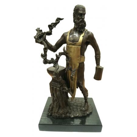 Гефест - бог металлургии и строительства (цветной)