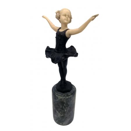 юная балерина ( бронза, кость)