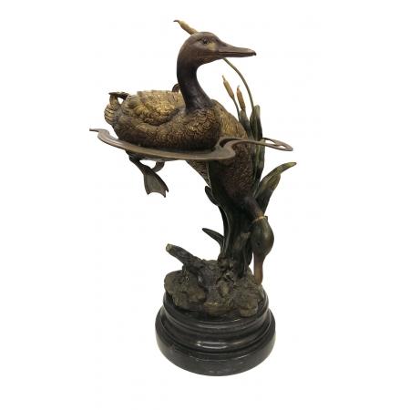 Две утки в воде