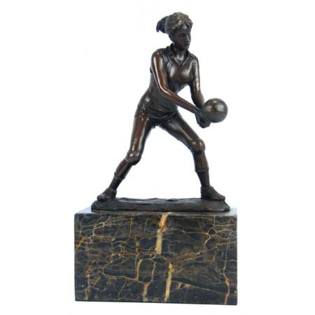 Статуэтка из бронзы Волейболистка