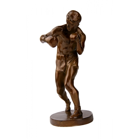 Статуэтка из бронзы Боксёр
