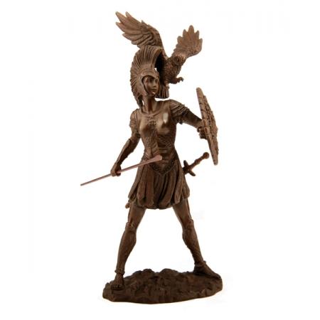 Афина  воинствующая богиня
